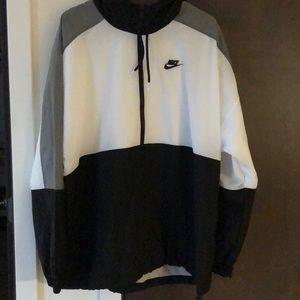 Nike full zip hooded wind breaker